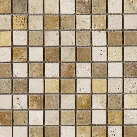 MOSAIC CLASSIC TRAVERTINE NOCHE TRAVERTINE LIMESTONE
